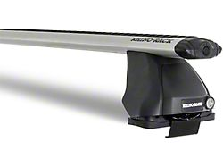 Rhino-Rack Vortex 2500 1-Bar Roof Rack; Silver (15-22 F-150 SuperCrew)
