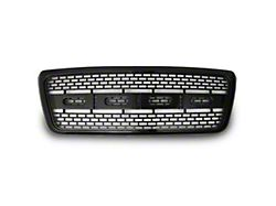 Raptor Style Upper Replacement Grille; Gloss Black (04-08 F-150)