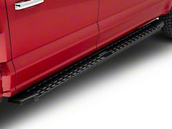 T-Style Running Boards; Black (15-22 F-150 SuperCrew)