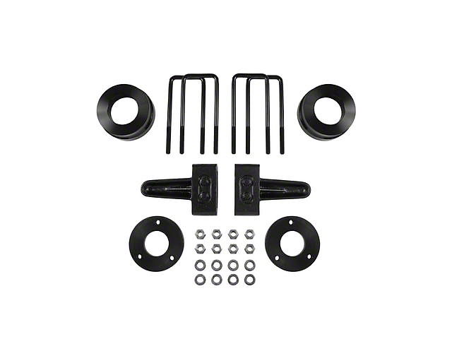 Pro Comp Suspension 2.50-Inch Front Leveling Kit with Rear Lift Blocks (04-21 4WD F-150, Excluding Raptor)