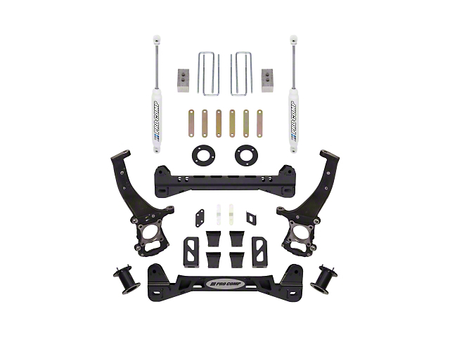 Pro Comp Suspension 6-Inch Stage I Suspension Lift Kit with ES9000 Rear Shocks (15-20 2WD F-150)