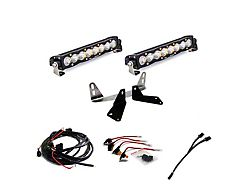 Baja Designs Dual 10-Inch S8 LED Light Bars with Grille Mounting Brackets (18-20 F-150 King Ranch, Platinum, XL, XLT)