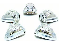 LED Cab Roof Lights; Crystal Clear (97-03 F-150)