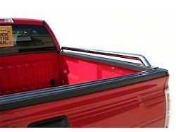 Bed Rails; Stainless Steel (97-14 F-150 Styleside w/ 6-1/2-Foot Bed)