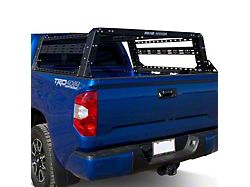 Road Armor TRECK Overland Adjustable Bed Rack System; Textured Black (07-21 Tundra w/ 6-1/2-Foot Bed)