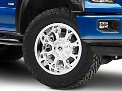 Fuel Wheels Krank Chrome 6-Lug Wheel; 20x10; -12mm Offset (15-20 F-150)