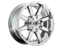 Fuel Wheels Maverick Chrome 6-Lug Wheel; 18x12; -44mm Offset (15-20 F-150)