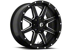 Fuel Wheels Maverick Matte Black Milled 6-Lug Wheel; 24x10; 1mm Offset (15-20 F-150)