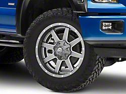 Fuel Wheels Maverick Gun Metal 6-Lug Wheel; 20x9; 1mm Offset (15-20 F-150)