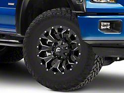 Fuel Wheels Assault Gloss Black Milled 6-Lug Wheel; 18x9; 20mm Offset (15-20 F-150)