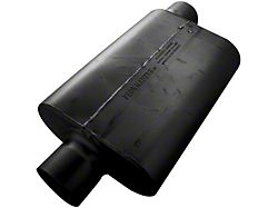 Flowmaster 30 Series Delta Force Race Offset/Center Oval Muffler; 4-Inch (Universal; Some Adaptation May Be Required)