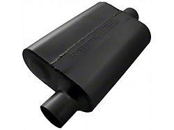 Flowmaster 40 Series Delta Flow Offset/Center Oval Muffler; 2.50-Inch (Universal; Some Adaptation May Be Required)