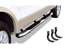 5-Inch OE Xtreme Composite Side Step Bars; Chrome (15-22 F-150 SuperCab)