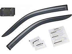 Goodyear Shatterproof Tape-On Window Deflectors (04-14 F-150 Regular Cab)