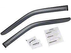 Goodyear Shatterproof Tape-On Window Deflectors (15-20 F-150 Regular Cab)
