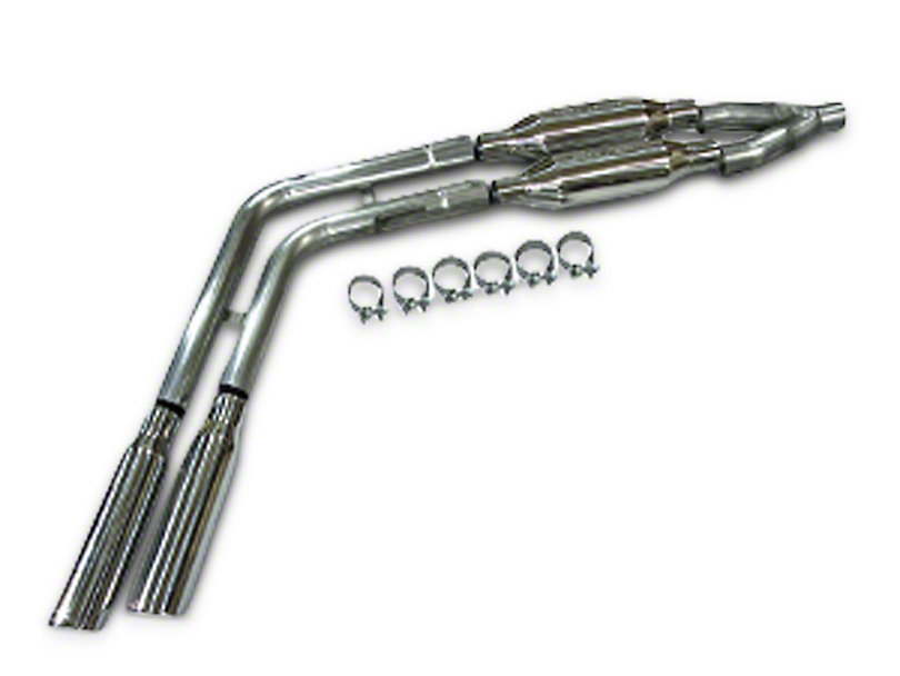 SLP Loudmouth II Cat-Back Exhaust - Dual Side Exit (04-08 4.6L)