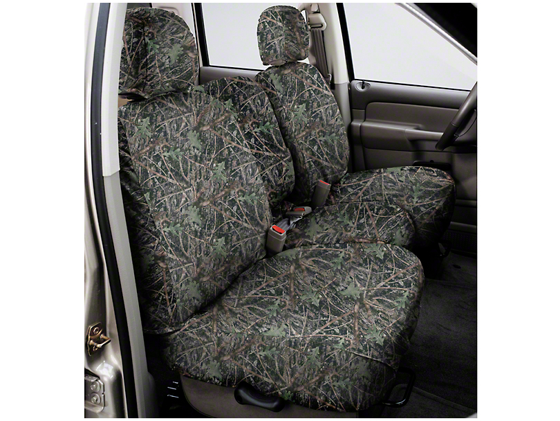 Covercraft Seat Saver Conceal Green Camo - Front Bench Seats (97-03)