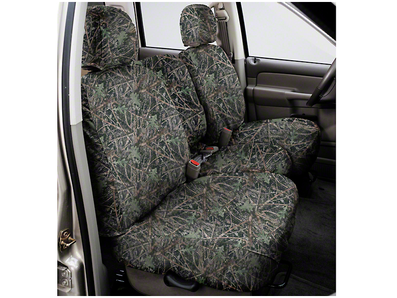 Covercraft Seat Saver Conceal Green Camo - Front Bench Seat (04-08 Regular Cab, SuperCab; 04-06 SuperCrew)