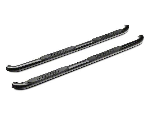 RedRock 4x4 3-Inch Side Step Bars; Black (05-21 Tacoma Access Cab)