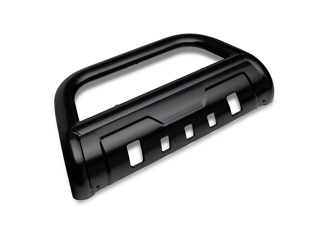 Barricade 3.50-Inch Oval Bull Bar with Skid Plate; Black (05-15 Tacoma)