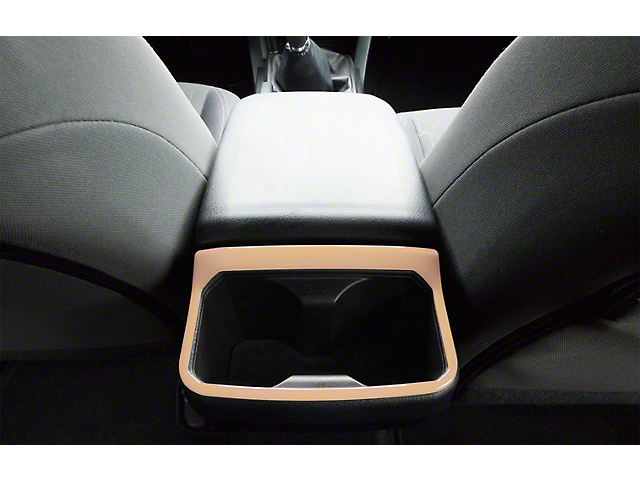 Rear Cup Holder Accent Trim; Quicksand Tan (16-21 Tacoma)