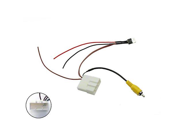 Scosche Camera Retention Wire Harness; 24-Pin (16-21 Tacoma)