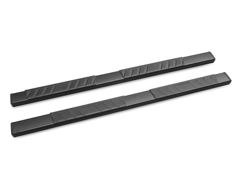 RedRock 4x4 Steel Side Step Bars - Black (05-20 Tacoma Access Cab)