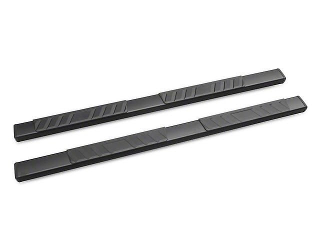 RedRock 4x4 Steel Side Step Bars; Black (05-20 Tacoma Access Cab)