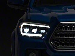 Morimoto GEN2 XB LED Headlights; Black Housing; Clear Lens (16-21 Tacoma)
