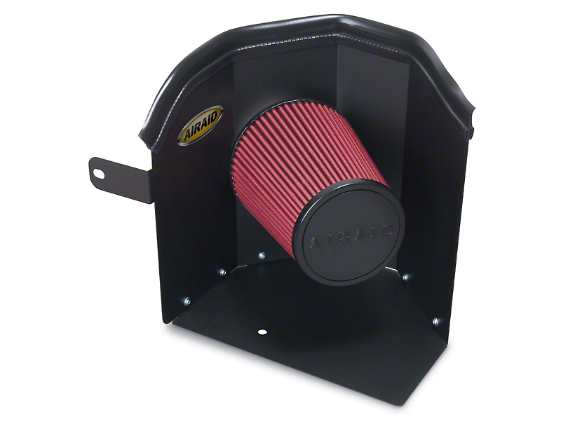 Airaid Cold Air Dam Intake w/ Red SynthaMax Dry Filter (05-11 4.0L Tacoma)