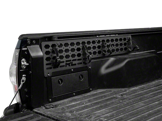 Rough Country Modular Bed Mounting System; Driver and Passenger Side (05-21 Tacoma)