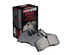 StopTech Sport Ultra-Premium Composite Brake Pads; Front Pair (05-21 6-Lug Tacoma)