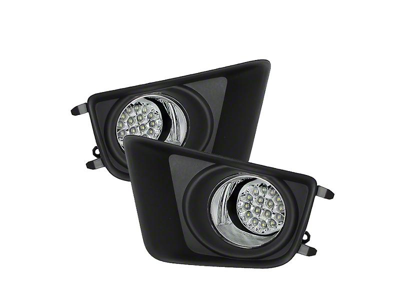 Axial Clear LED Fog Lights (12-15 Tacoma)