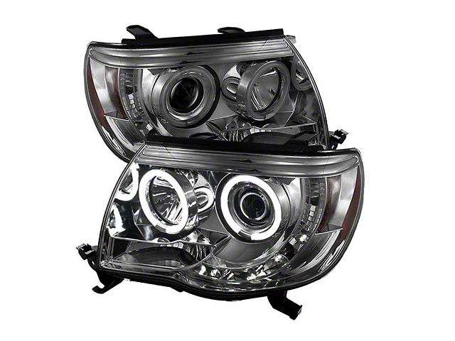 Axial Smoked Projector Headlights w/ CCFL Halos (05-11 Tacoma)
