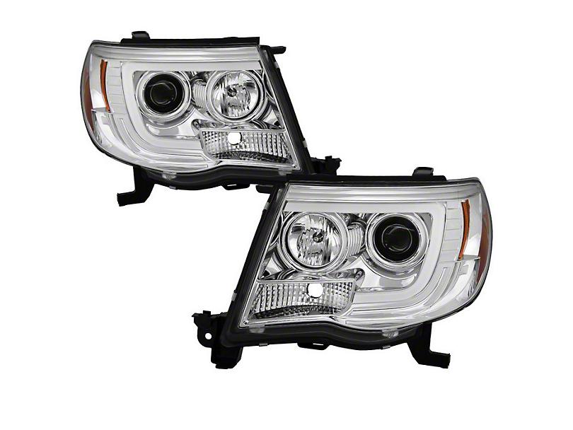 Chrome V2 Projector Headlights w/ Daytime Running Light (05-11 Tacoma)