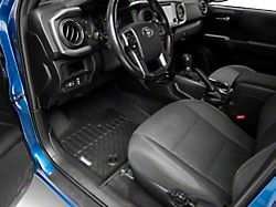 TruShield Precision Molded Front Floor Liners; Black (16-21 Tacoma)