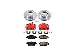Power Stop Z23 Evolution 5-Lug Brake Rotor, Pad and Caliper Kit; Front (05-15 Tacoma)