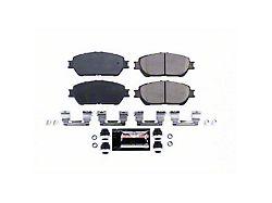 Power Stop Z23 Evolution Sport Carbon-Fiber Ceramic Brake Pads; Front Pair (05-15 5-Lug Tacoma)