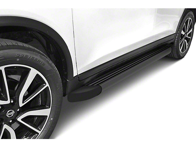 Romik RB2-T Running Boards; Black (05-21 Tacoma Double Cab)