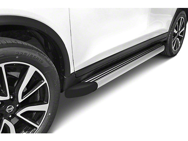 Romik RB2-T Running Boards; Stainless Steel (05-21 Tacoma Double Cab)