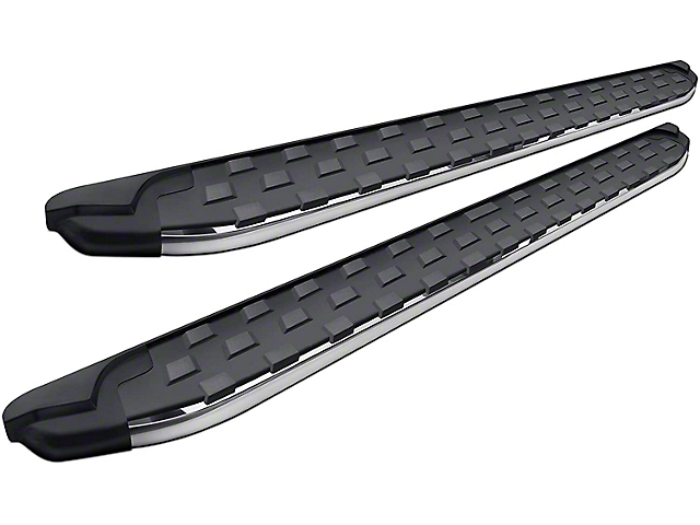 Romik REC-TP Running Boards; Polished (05-21 Tacoma Double Cab)
