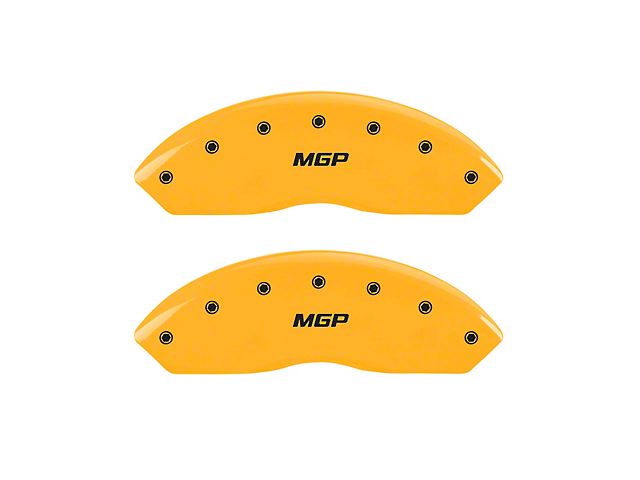 MGP Yellow Caliper Covers w/ MGP Logo - Front (05-20 Tacoma, Excluding X-Runner)