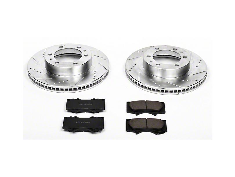 Power Stop Z23 Evolution Sport 6-Lug Brake Rotor & Pad Kit - Front (05-20 Tacoma)