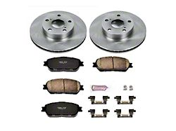Power Stop OE Replacement 5-Lug Brake Rotor and Pad Kit; Front (05-15 Tacoma)