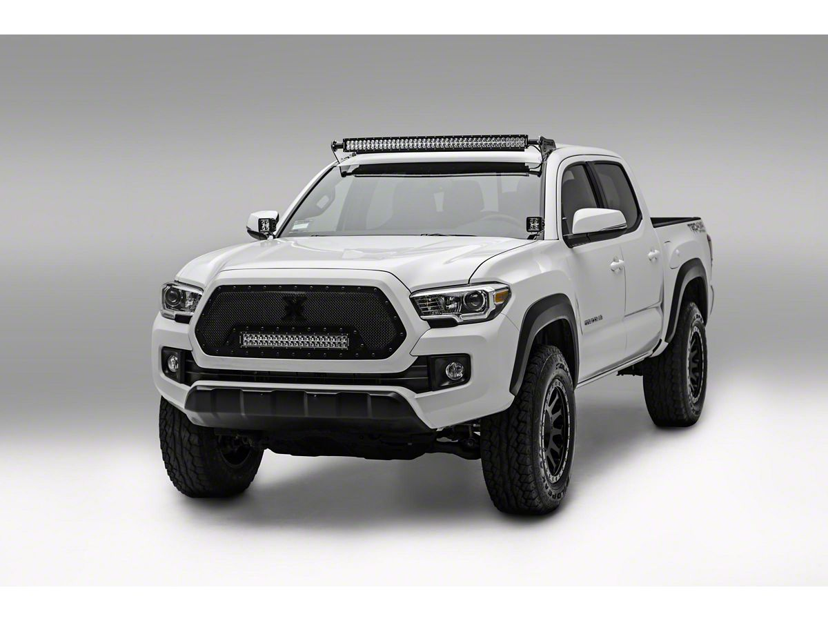 Bars In Tacoma >> Zroadz 40 In Curved Led Light Bar W Roof Mounting Brackets 05 20 Tacoma