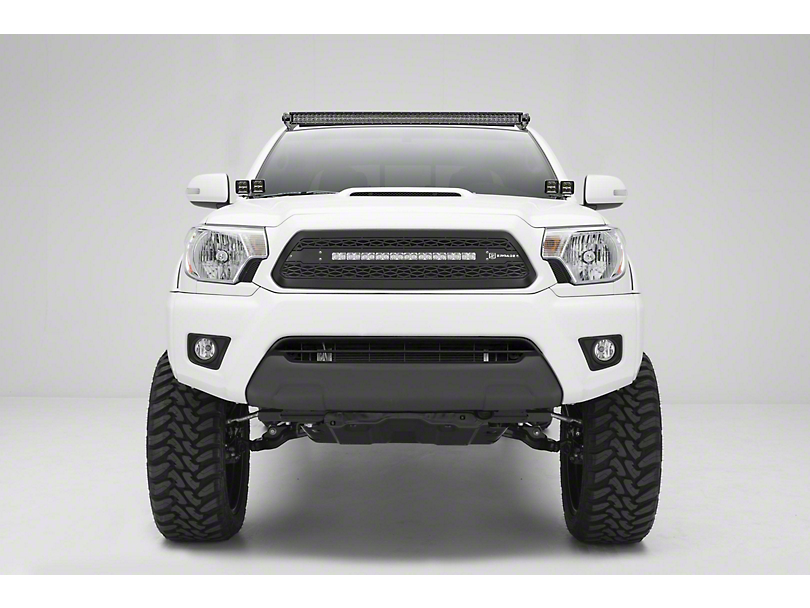 ZRoadz Four 3 in. LED Light Cubes w/ Hood Hinge Mounting Brackets (05-15 Tacoma)