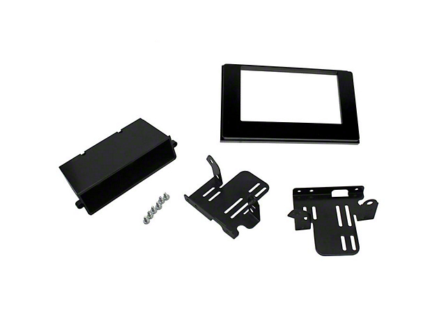 Scosche Model ISO Double DIN with Pocket Kit; Black (16-21 Tacoma w/ Premium Stereo/JBL System)