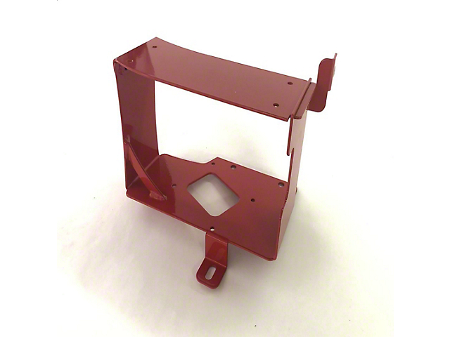 M.O.R.E. ARB Twin Compressor and Tank Mount; Under Hood; Red (16-21 Tacoma)