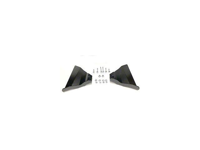 M.O.R.E. Front Lower Control Arm Skid Plate; Black (16-21 Tacoma)