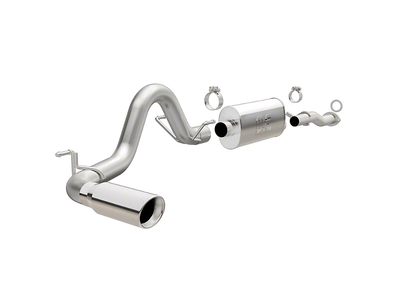 Magnaflow 3-Inch Street Series Single Exhaust System; Side Exit (16-20 3.5L Tacoma)